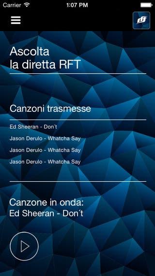 RFT Radio Fiume Ticino APP
