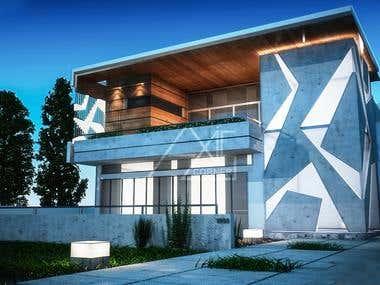 3D Residence Render