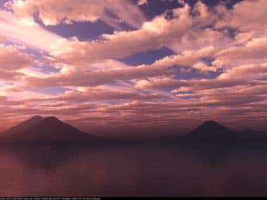 LakeAtitlan Sunrise