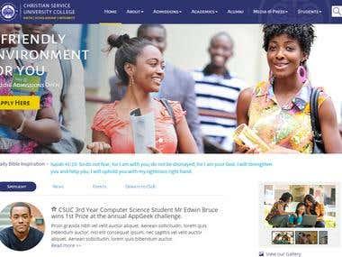 University Web Design for CSUC