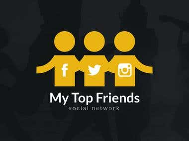 My top Friends Mobile application