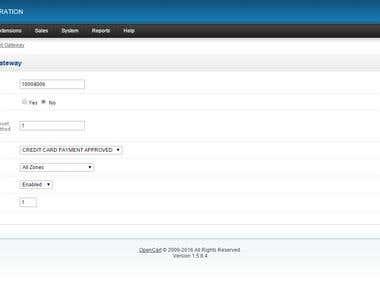 OpenCart BNZ Buyline Payment Gateway
