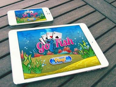 GoFish - UI Game design
