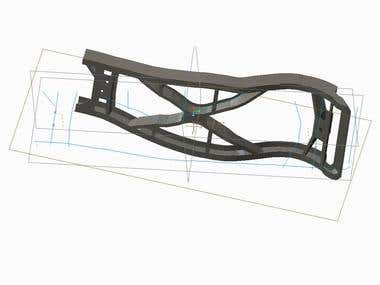 Jeep Body Frame