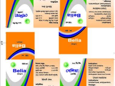 Belia - Bottle Level Design