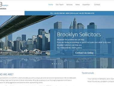 Solicitor Website