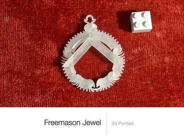 3d printed Jewel