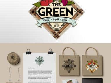 Brand Identity for The Green - grocery store (Contest Entry)