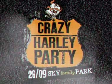 Crazy Harley Party – Promotion Video