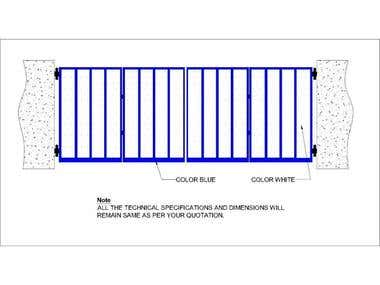 AutoCAD sheet metal drafting