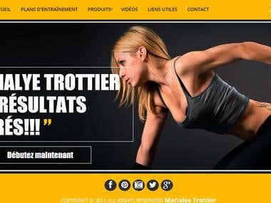 Responsive Fitness Website