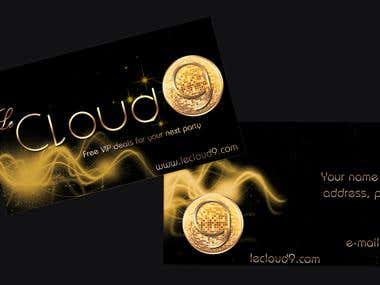 LeCloud 9 business card