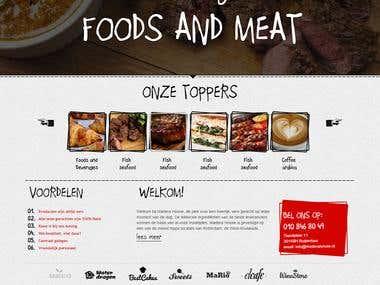 Restaurant Responsive Website