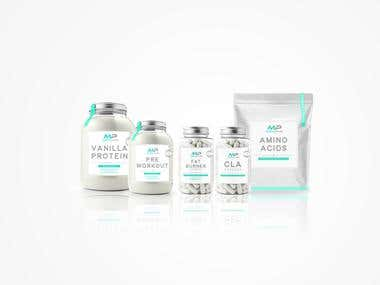Muscle Pure - Packaging Design