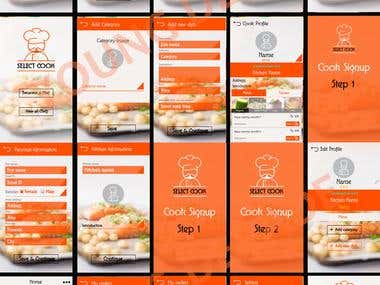 Select Cook APP - I