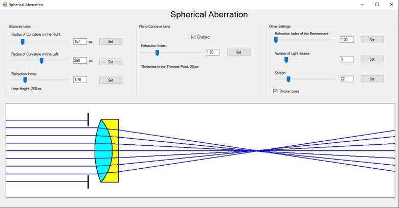 Lens Simulation in C++/Visual Studio | Freelancer