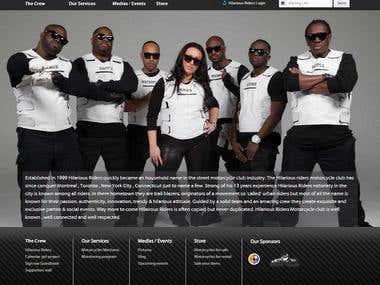 Responsive Website PHP