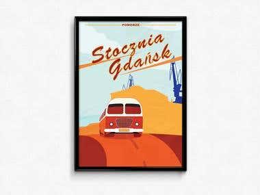 Vintage Poster Design/Print