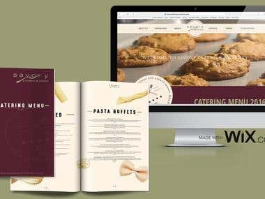 Savory Catering & Events Rebranding