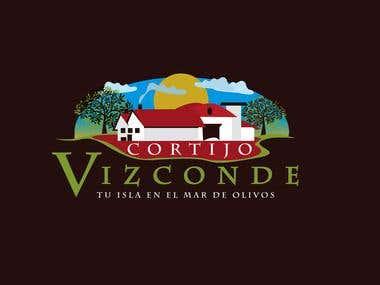 Logotipo para el Cortijo Vizconde