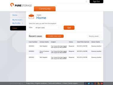 New PureStorage Site Design and Implementation