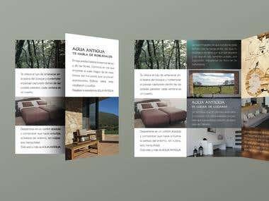Tri-folder brochure