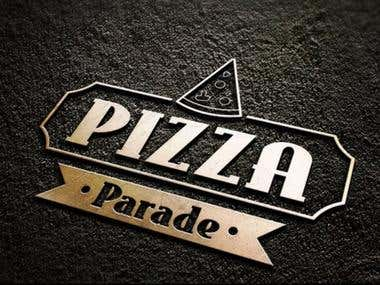Logo for PIZZA Parade