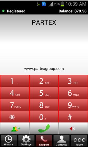 Partex Dialler