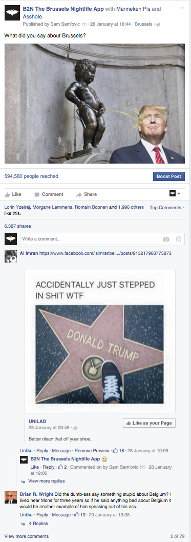 Viral Facebook post (600.000 people reached, 6.400 shares..)