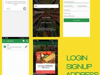 Grocals - Online Grocery Shopping App