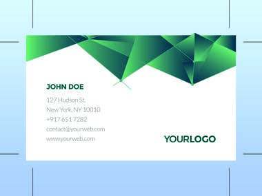 Business card, Envelope, Letter head Design.