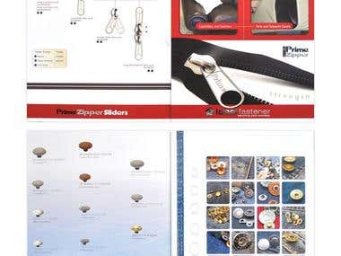 Ideal Fastener Brochure Designs