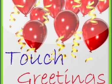 Touch Greetings : Android app