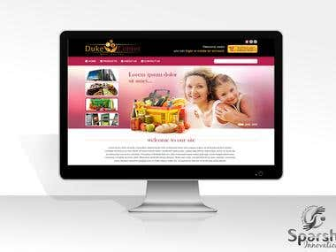 Ecommerce Website - Codeigniter