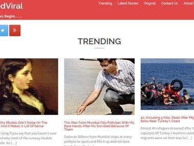 Liked Viral - News Portal