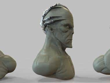 Busts (Digital Sculptures)