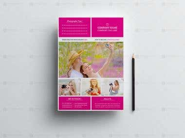 Simple Photography Training Flyer
