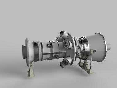 Steam Turbine (3D Model)