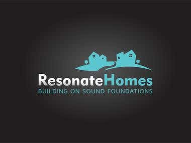 Logo Design - Resonate Homes