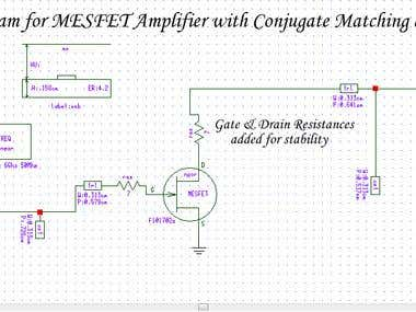 """Microwave Amplifier Design"""