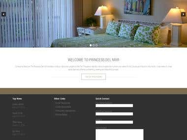 Website for condominum association