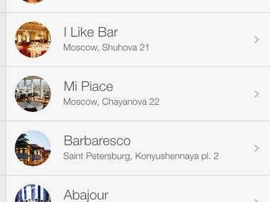 Restorante App