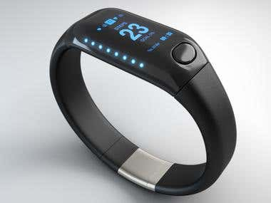 3D Modelling - Bluetooth Wearable Sensor Device