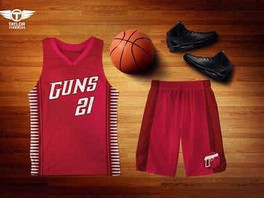 Basketball uniform - Taylor Teamwear