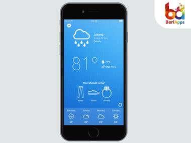 WeatherWear - iOS App