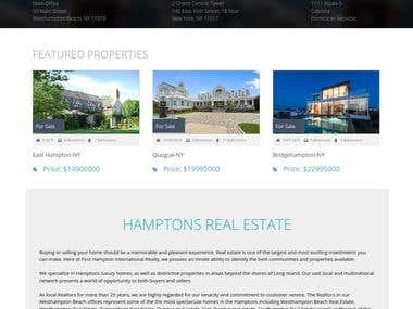Firsthamptonrealty real estate company