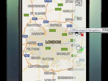 offline gps navigation