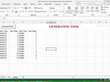 Generating Tool