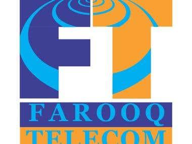 Farooq Telecom (KSA) Logo Design
