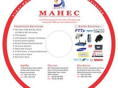 MAHEC (KSA) Cd Sticker Design